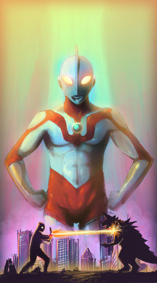 Ultraman by RaySama