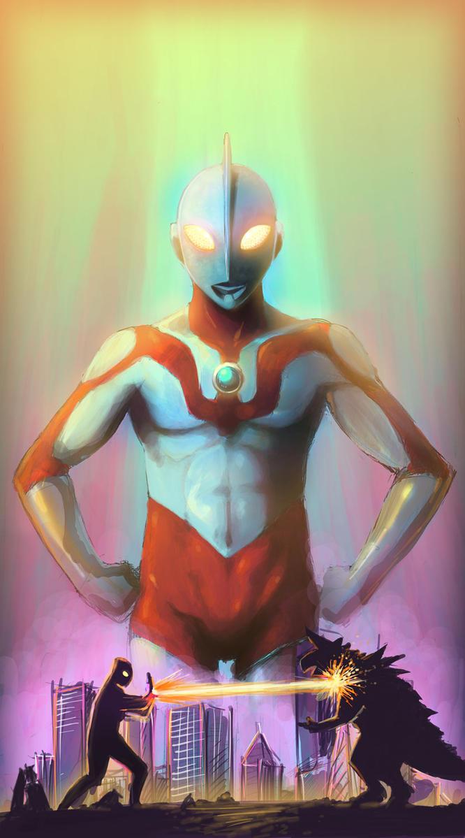 Ultraman by RaySama