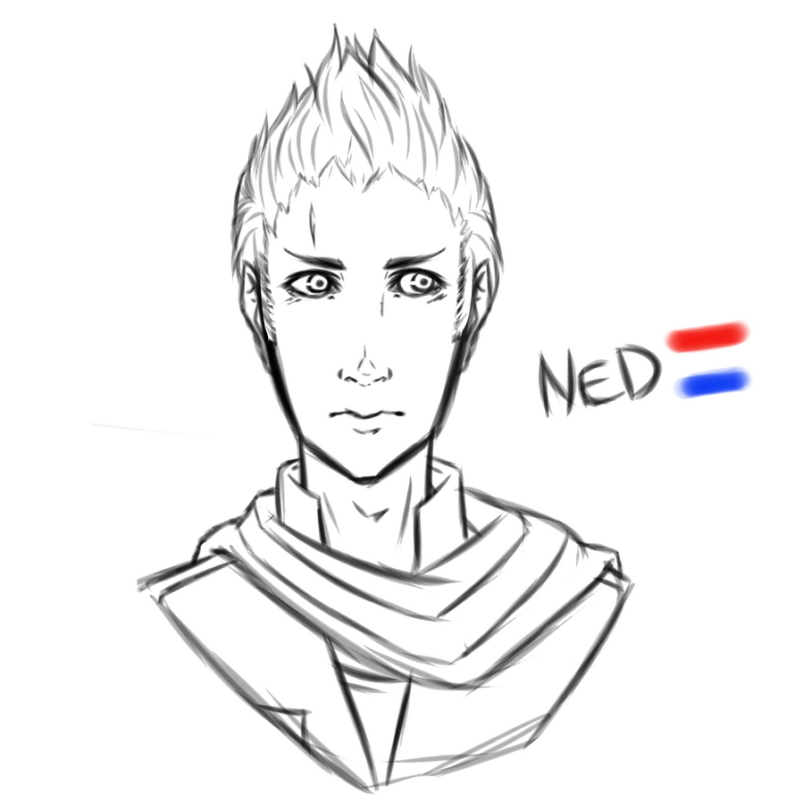 (Sketch) The Netherlands - Hetalia by FuwafuwaClear