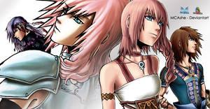 Final Fantasy XIII-2 - fan art by me 2