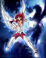 Pegasus Kouga - Saint seiya omega Fan art by MCAshe