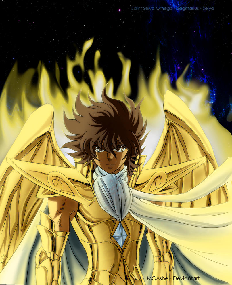 Fan Art Seiya De Sagitario By MCAshe