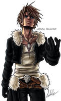 Squall leonhart Fan Art - Final Fantasy VIII