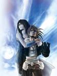 Squall leonhart/Rinoa heartilly - FFVIII Fan Art
