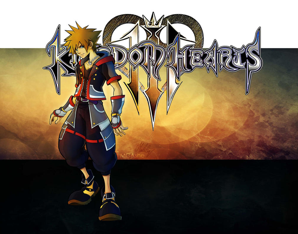 Sora kingdom hearts 3 Fanart by MCAshe