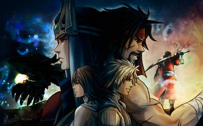 Final Fantasy X Poster- fanart