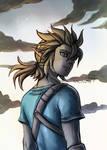 Link fanart - Zelda breath of the wild