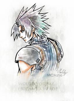 Zack Fair Artwork Final Fantasy VII - Crisis Core