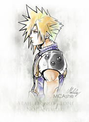 Cloud strife Artwork Final Fantasy VII
