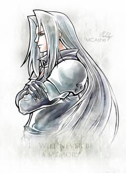 Sephiroth Artwork Final Fantasy VII