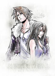 Squall / Rinoa  Artwork Final Fantasy VIII by MCAshe