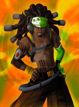 Lucio equalizer skin Overwatch FanArt