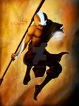 Aang - Avatar state Artwork