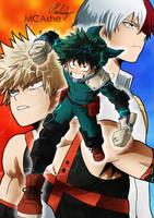 Boku no hero Academia by MCAshe