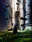 A Hero's sword - Final Fantasy VII Artwork by MCAshe