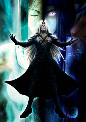 Sephiroth - Mother by MCAshe