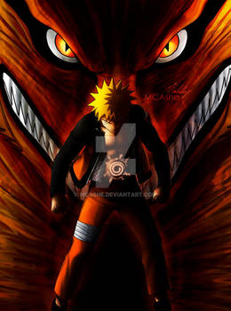 Naruto Kyubi Artwork