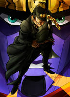 Jotaro Kujo - Star platinum by MCAshe