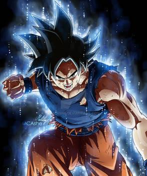 Ultra instinct - Goku Artwork