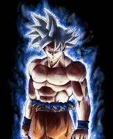 Goku ultra instinct - Selfish doctrine by MCAshe