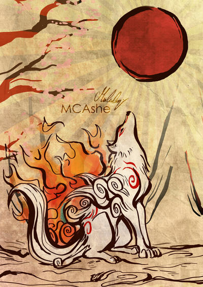 Okami by MCAshe