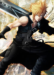 Cloud Strife by MCAshe