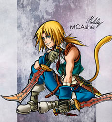 Zidane Tribal by MCAshe