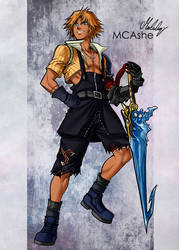 Tidus by MCAshe