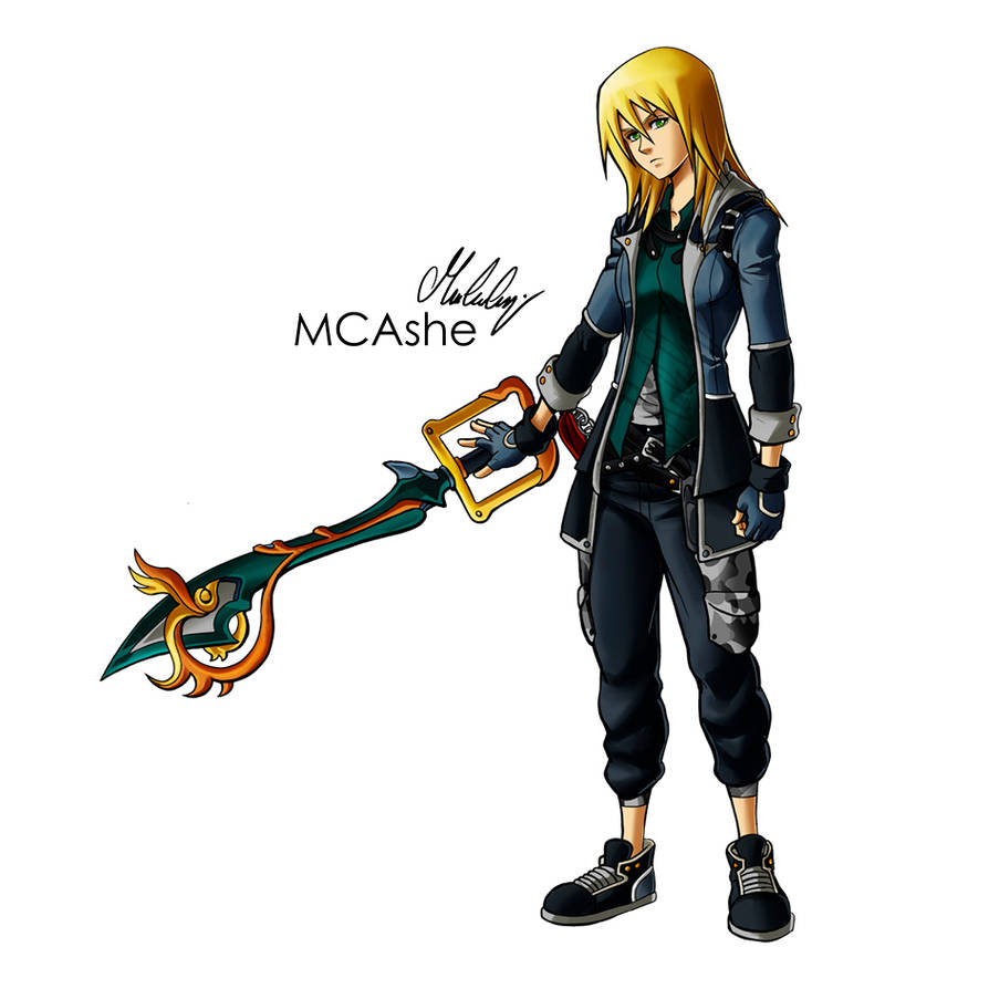 Commission Kingdom Hearts by MCAshe