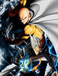 One punch man by MCAshe