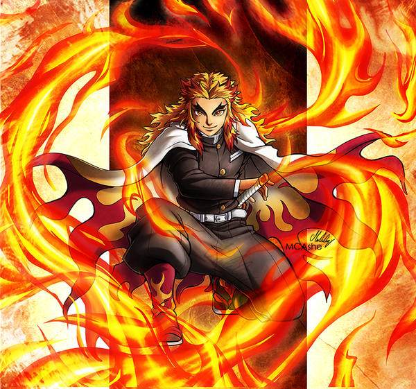 Rengoku Kyujuro Artwork