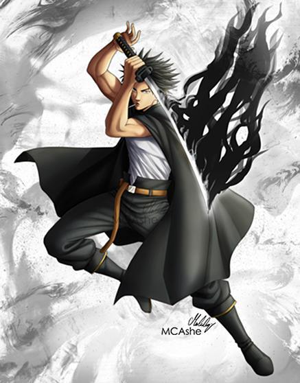 Yami Sukehiro Dark Mage By Mcashe On Deviantart