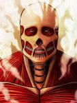Colossal Titan Armin artwork