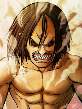 Jaw Titan Ymir artwork