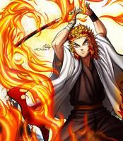 Fire Hashira Kyojuro Rengoku