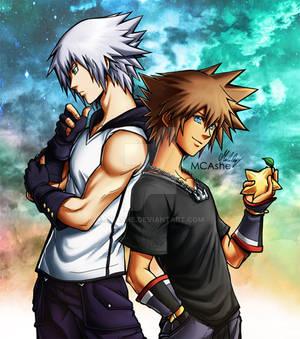 Riku and Sora KH3