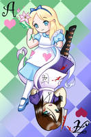 Looking Glass Alice by Spectra22