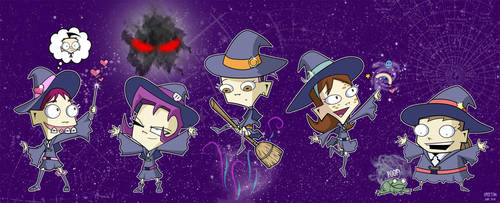 Little Witch Invader Zimia
