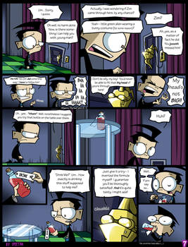 Dib in Wonderland- Page 7