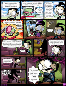 Dib in Wonderland- Page 20