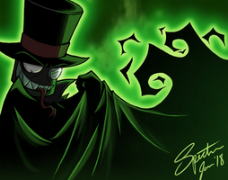 Something Villainous This Way Comes--Color