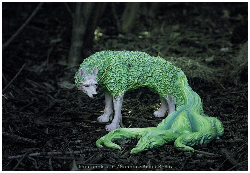 Day 6 - L'esprit des plantes by MonsterBrand