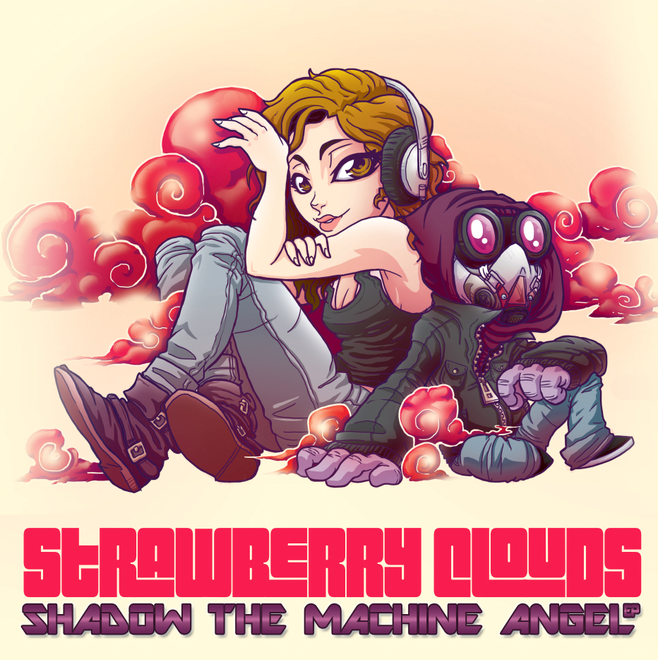 Strawberry Clouds: Shadow the Machine Angel by MonsterBrand