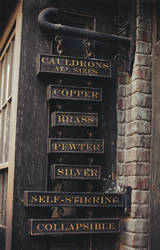 Potage's Cauldron Shop by MonsterBrand