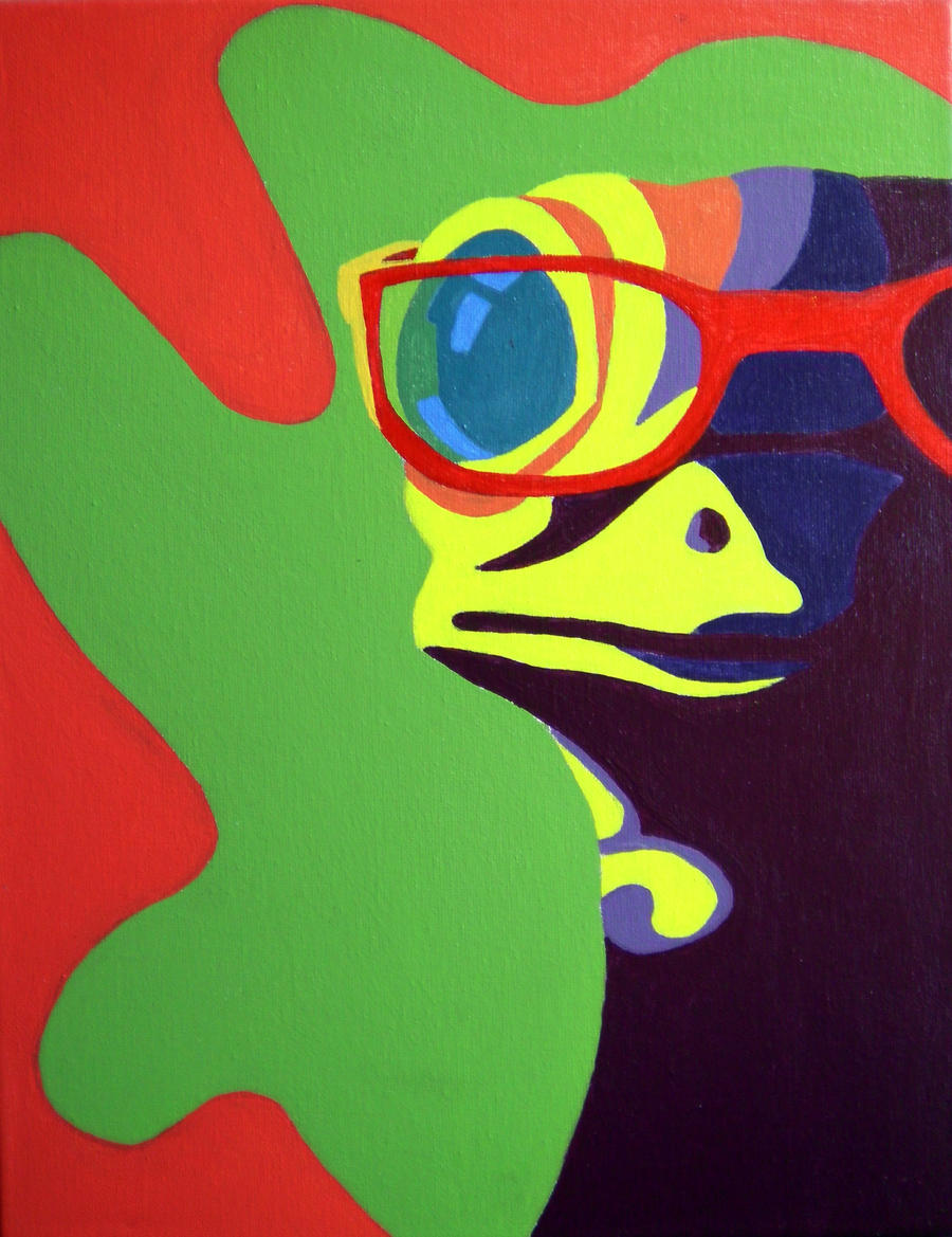 Abstract GEICO Gecko by MissD0llFace on deviantART