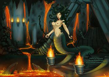 Medusa's Daughter by ebonydragon
