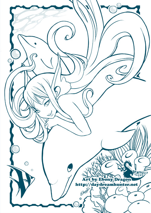 Frolics In The Sea by ebonydragon