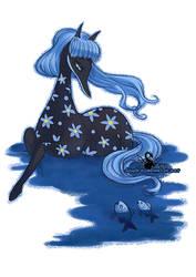 Sea Filly by ebonydragon