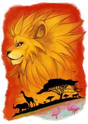 Rising King by ebonydragon