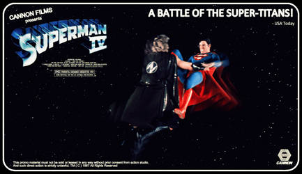 1987 Superman IV Poster Wallpaper by jayce76